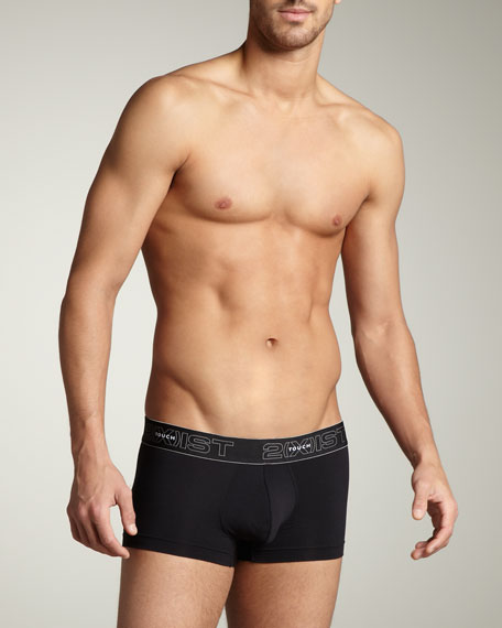 Touch No-Show Trunks, Black
