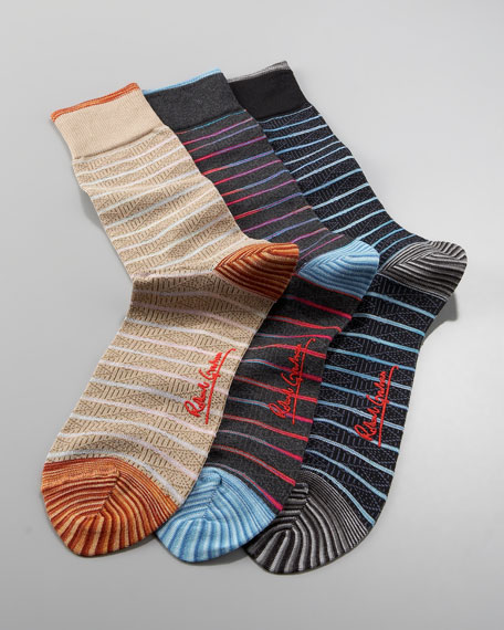 Galileo Striped Socks