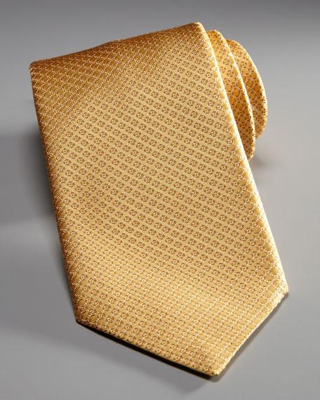 Woven Neat Tie, Yellow