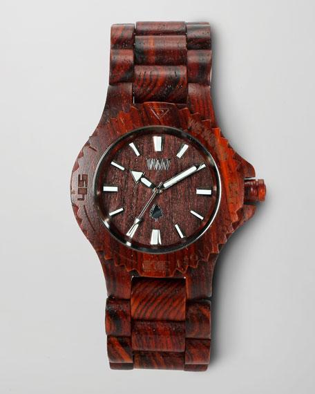 Wooden Watch, Brown