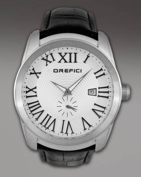 Classico Chronograph Watch, Black/Gray