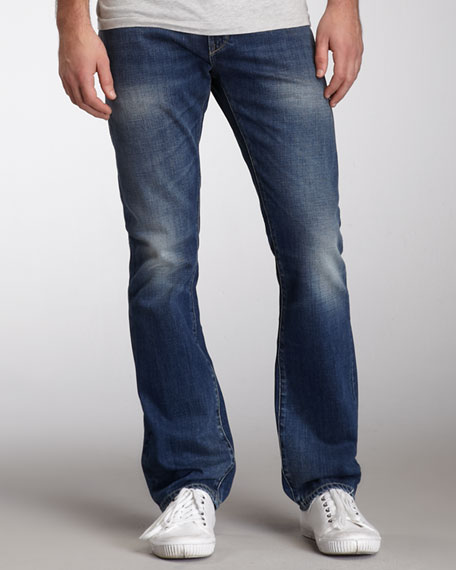Turner Sycamore Boot-Cut Jeans