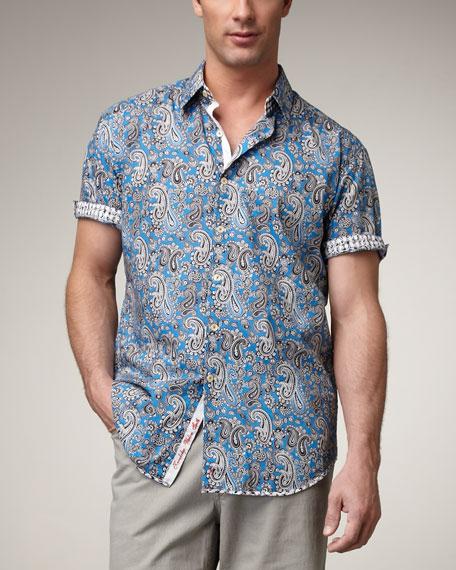 Kahlo Paisley-Print Shirt