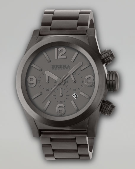 Eterno Chronograph Watch, Gray