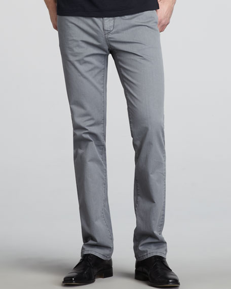 Duncan Slim Pants, Gray