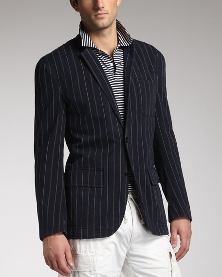 Skylark Striped Blazer