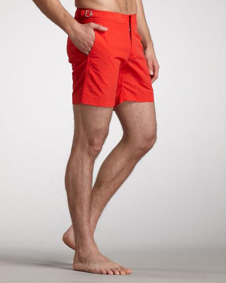 Bulldog Swim Shorts, Rescue Red