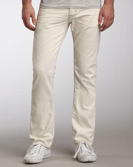 Byron Ecru Selvedge Jeans