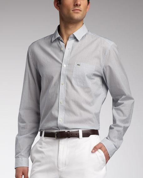 Slim-Fit Voile Sport Shirt