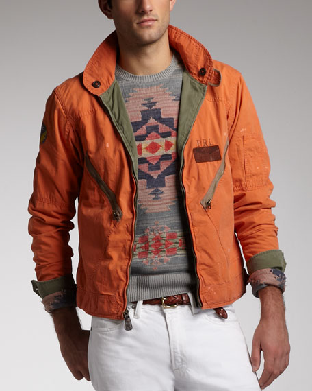 Polo Ralph Lauren Reversible Flight Jacket