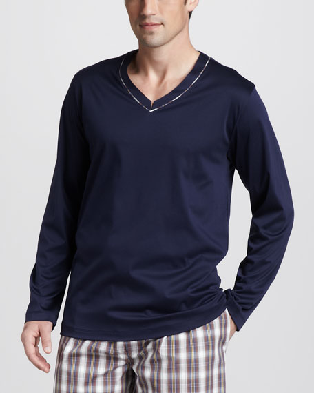 Long Island Mercerized Pajama Shirt