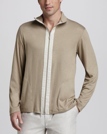 Crossover Zip Jacket