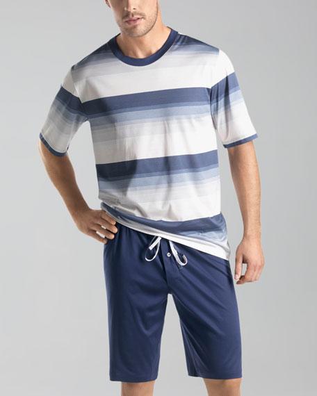 Dawn Striped Short Pajamas