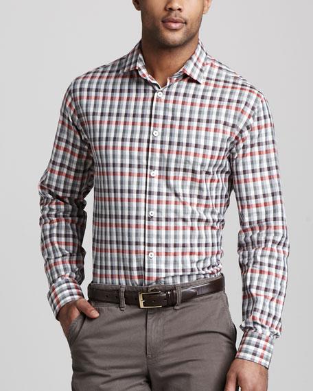 John T Check Shirt