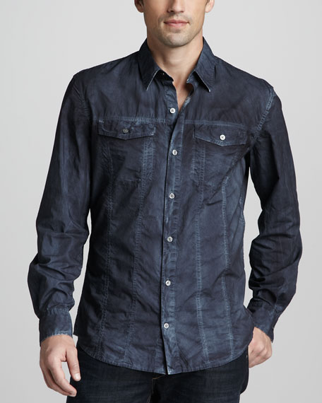 Denim-Look Shirt