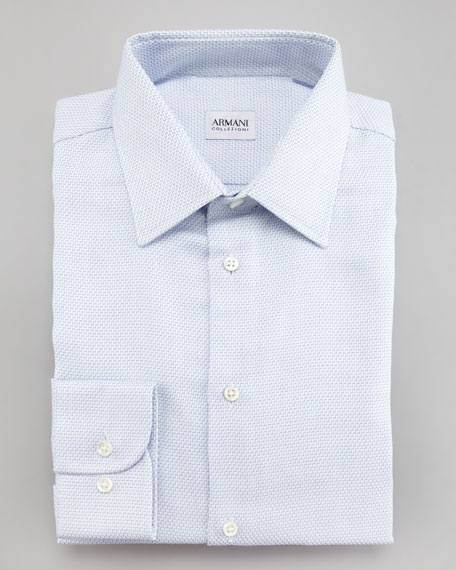 Chevron Dress Shirt, Modern Fit
