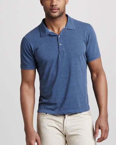 Short-Sleeve Polo, Navy