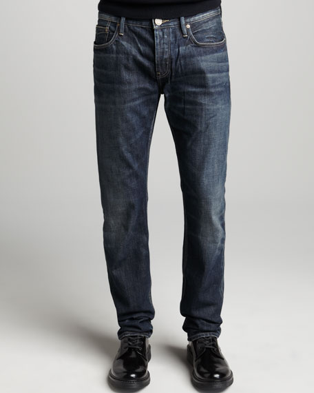 Faded Dark Jeans