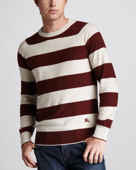Striped Raglan Sweater