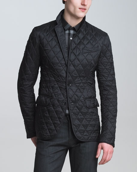 Tailored Quilted Jacket
