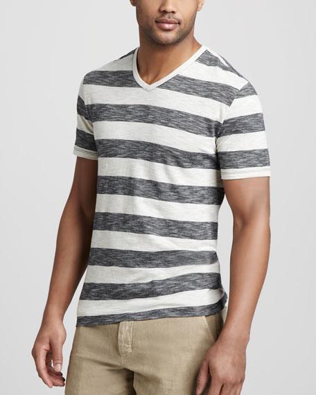 Striped Slub Tee