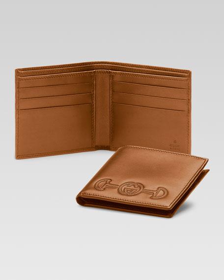 Horsebit Bi-Fold Wallet