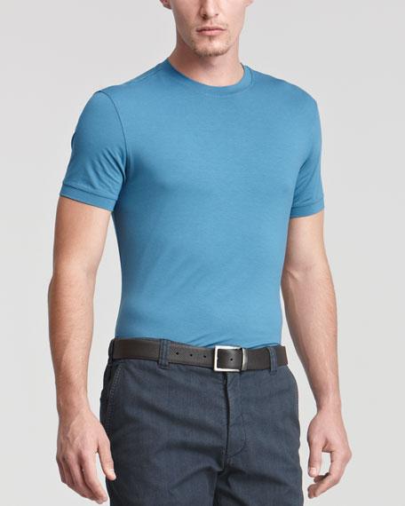 Stretch Viscose T-Shirt