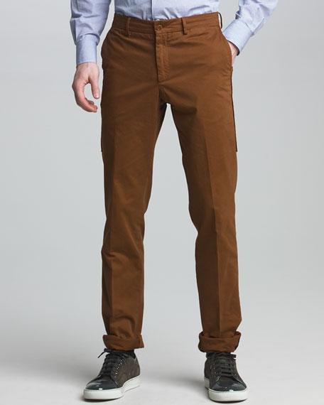 Side-Seam Chino Pants