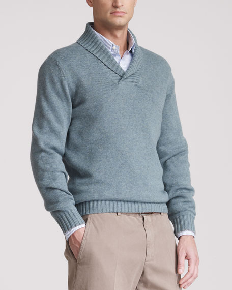 Shawl-Collar Sweater, Auoro
