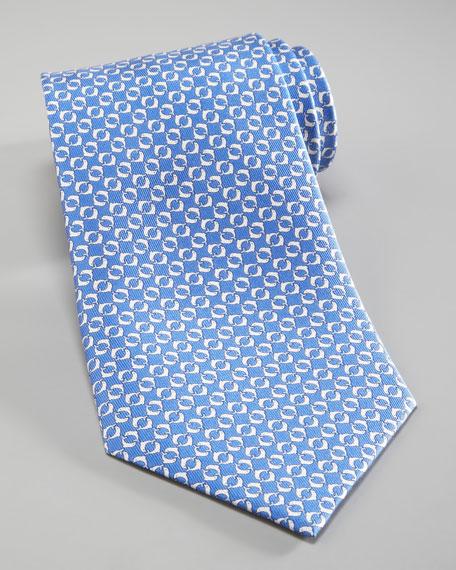 Dolphins Silk Tie