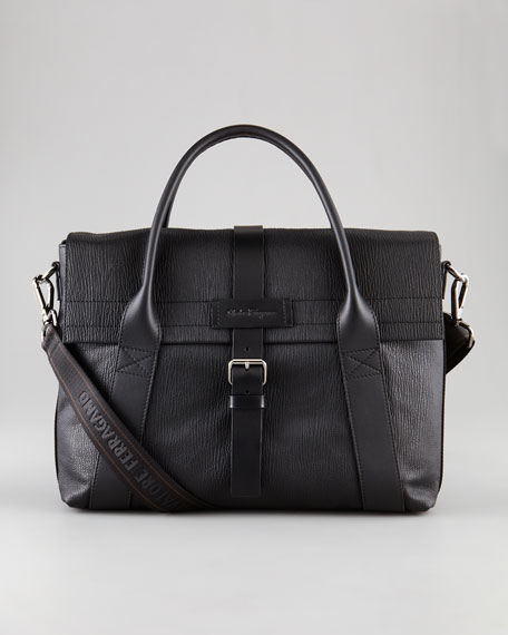 Alpha Leather Briefcase