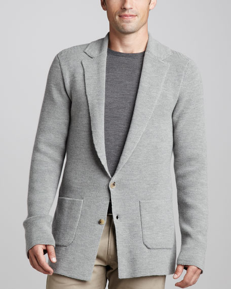 Two-Button Cardigan Jacket
