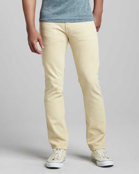 Matchbox Sulfur Mellow Yellow Jeans