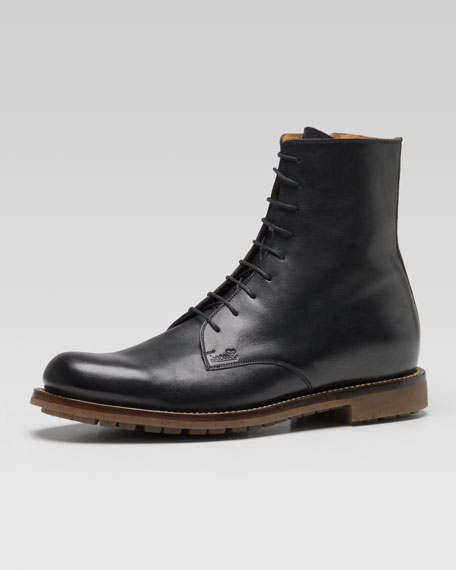 Daumier Lace-Up Military Boot