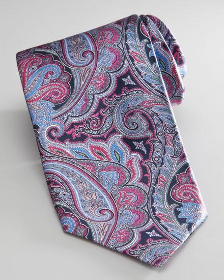 Multicolor Paisley Tie