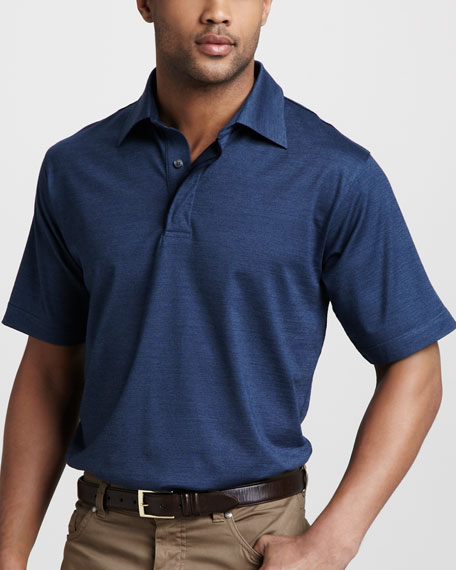 Stretch-Cotton Polo