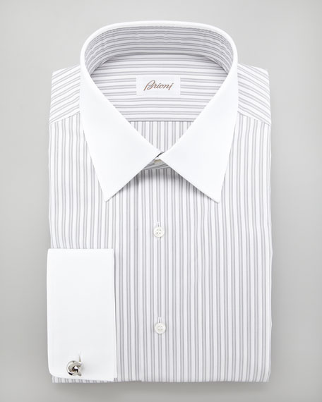 Striped French Cuff Shirt