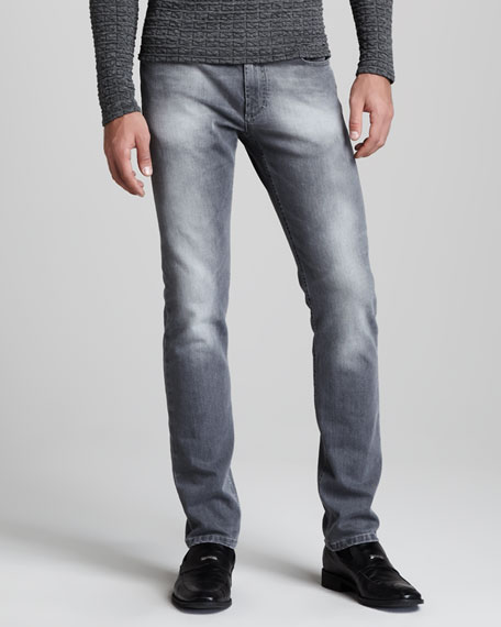 Faded Gray Jeans