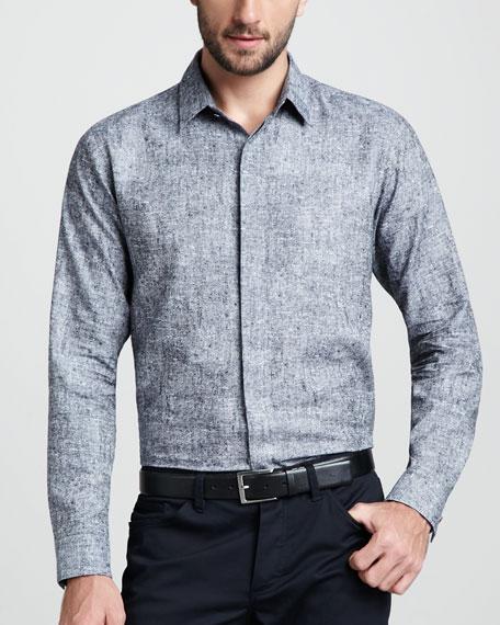 Melange Sport Shirt