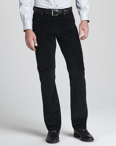 Five-Pocket Corduroy Pants