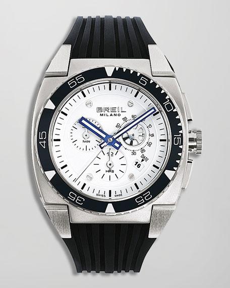 Mediterraneo Chronograph Watch, White