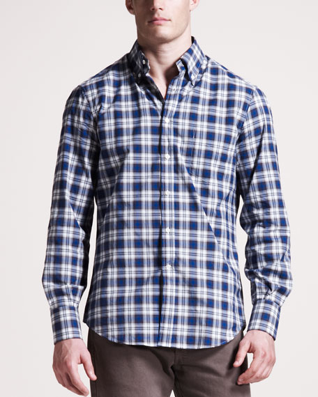 Check Button-Down Shirt