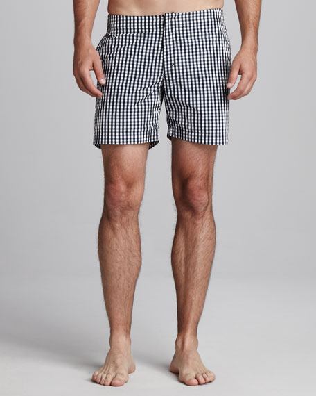 Beagle Surf Shorts, Navy