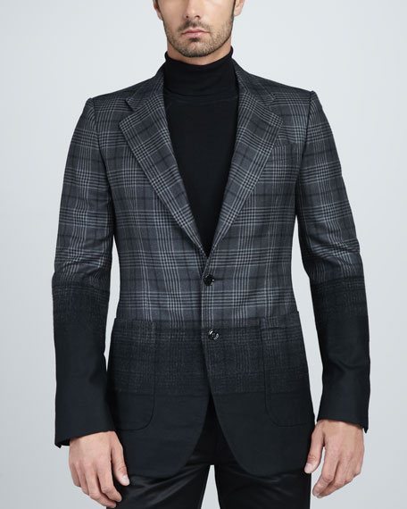 Ombre Prince of Wales Blazer