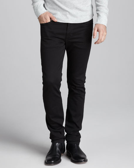 Super Slim Black Jeans