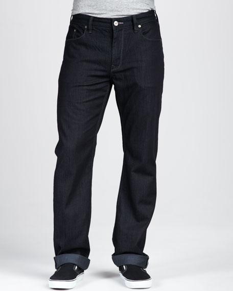 Dark Resin Jeans