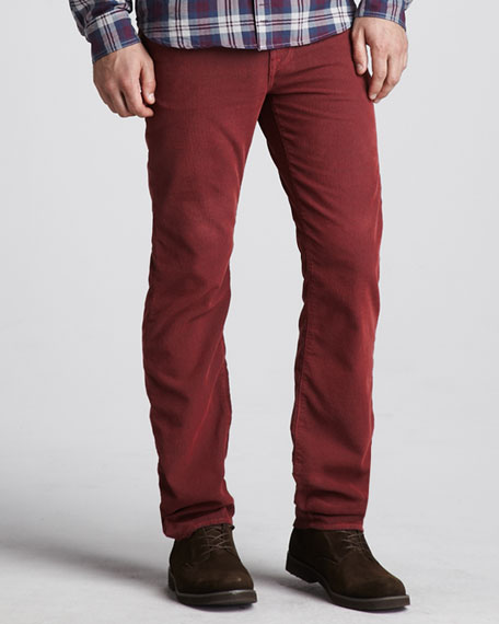 7 For All Mankind Slimmy Corduroy Pants