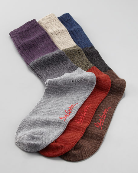 Oxford Tricolor Thick Socks