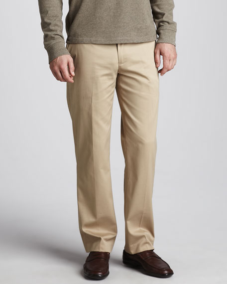 Preson Brushed-Cotton Pants