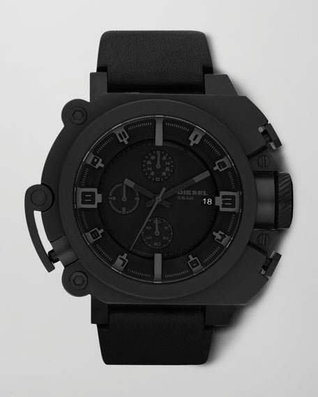 Matte Chronograph Watch